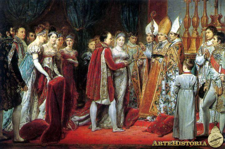 Resultado de imagen para Fotos del matrimonio de Napoleón con María Luisa de Habsburgo