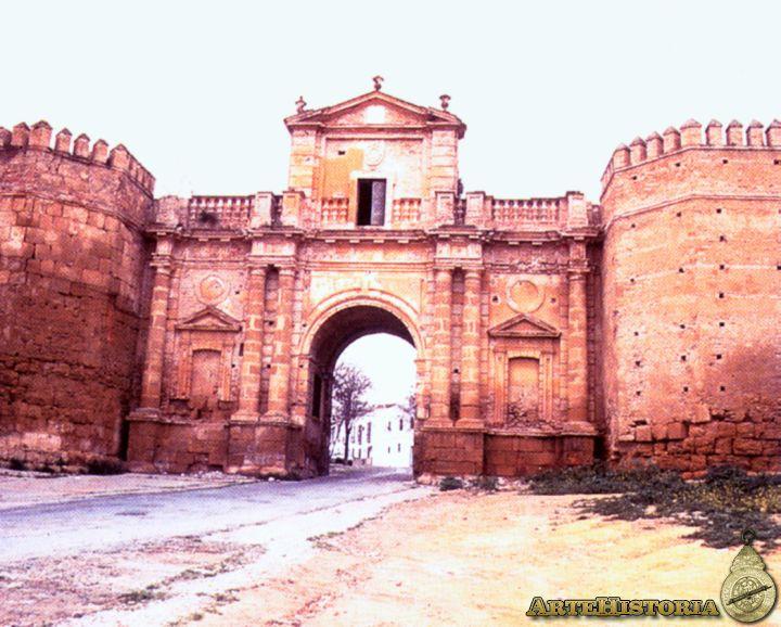 Puerta de c rdoba en carmona sevilla obra artehistoria v2 for Puerta de sevilla carmona