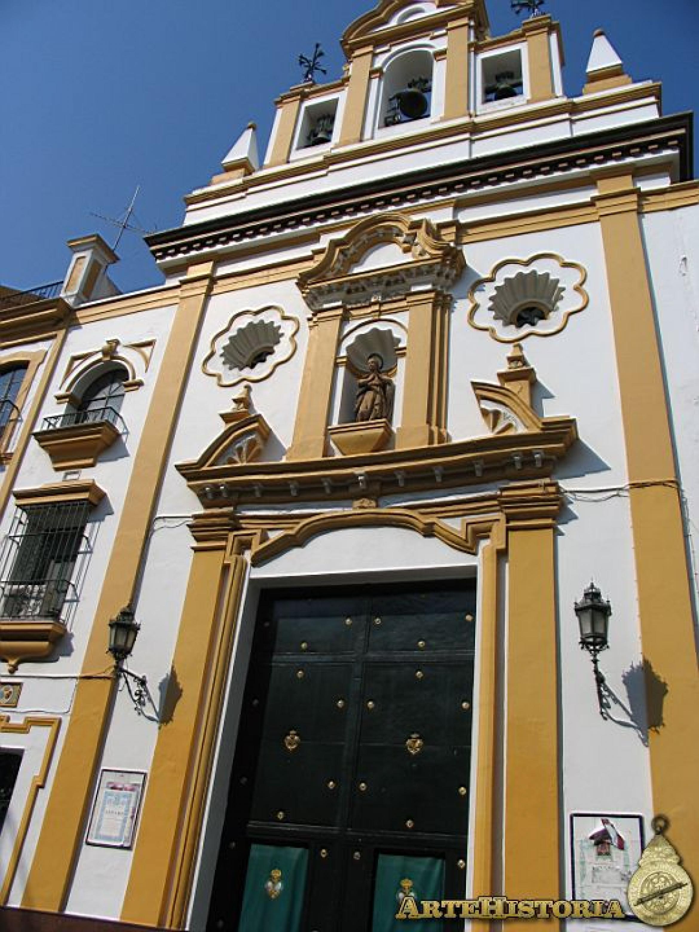Capilla de los Marineros (Sevilla). Fachada | artehistoria.com