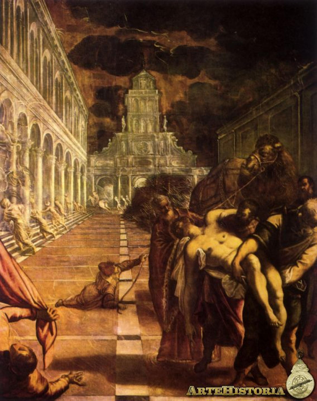 Traslación del cuerpo de san Marcos | artehistoria.com